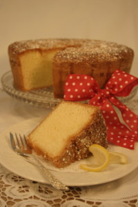 baked from scratch, homestyle lemon pound cake, gourmet cake